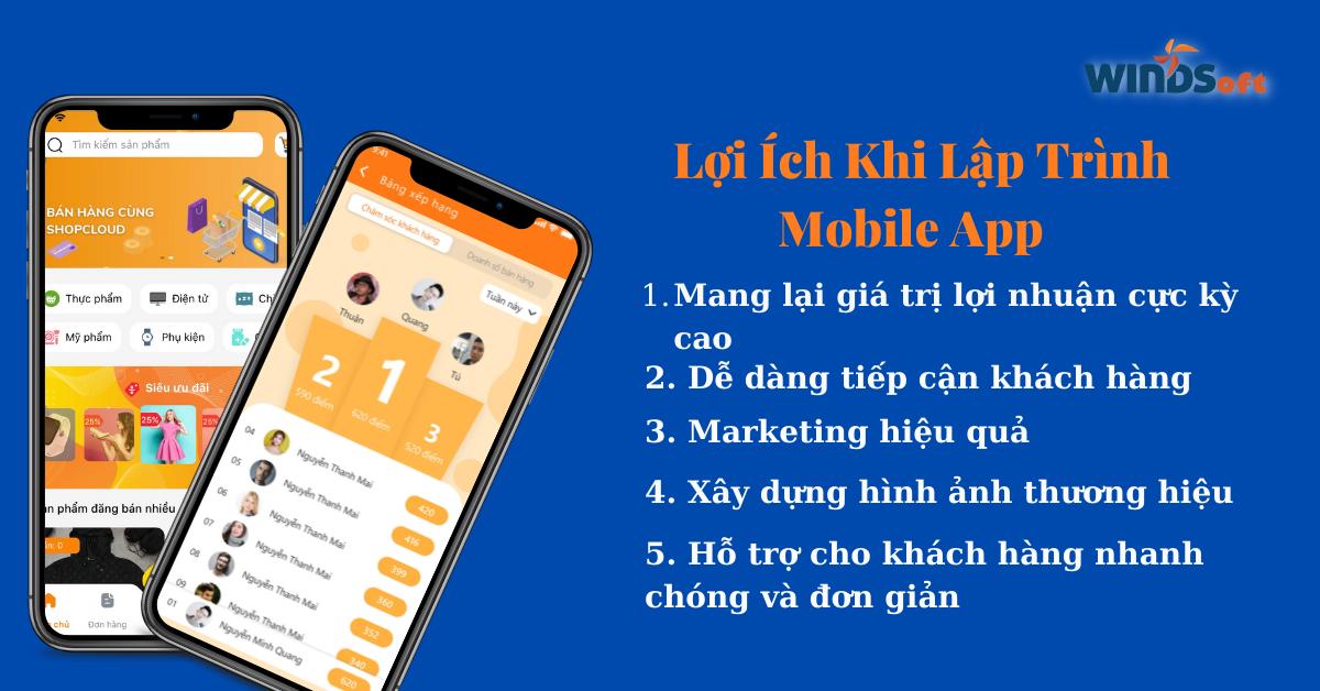 lap trinh app mobile